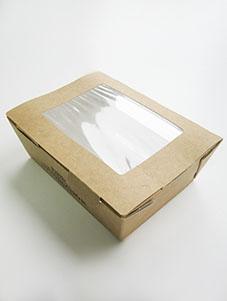 картонная коробка салатник