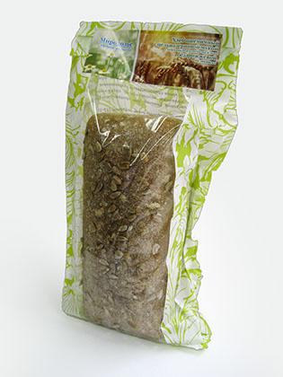 Бумажный пакет для хлеба с плоским дном